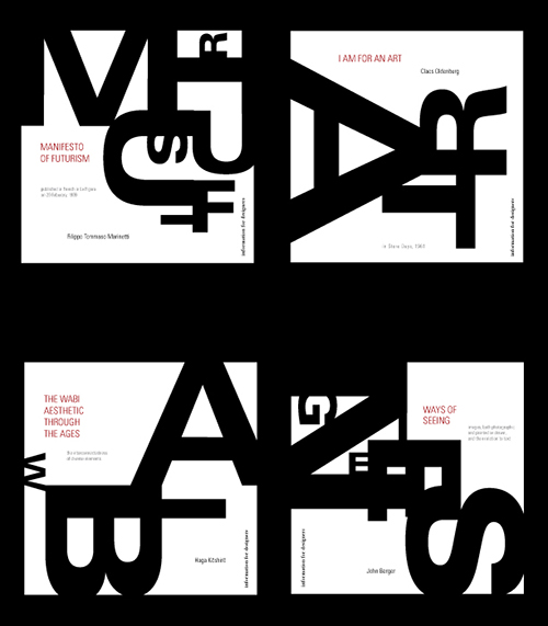 Series of book covers